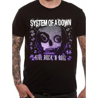 t-shirt metal men's System of a Down - Death Ro Rock - LIVE NATION - RTSOAD609