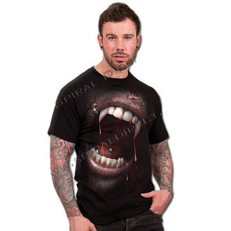 t-shirt men's - Goth Fangs - SPIRAL - D048M101