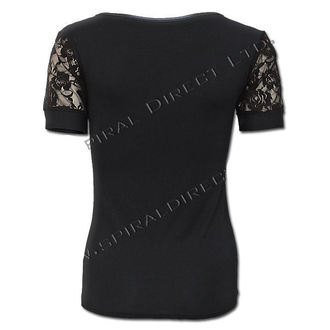 t-shirt women's - Rose Skull - SPIRAL - T081F730