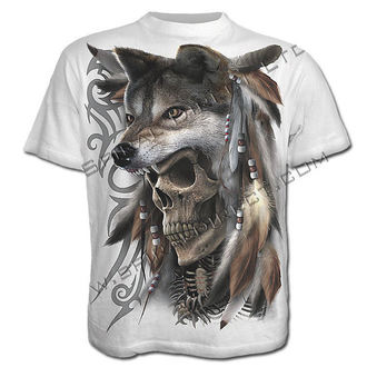 t-shirt men's - Spirit Of The Wolf - SPIRAL