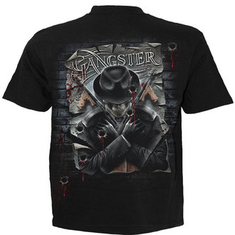 t-shirt men's - Gangster - SPIRAL - TR362600