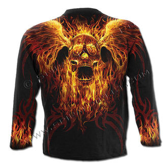 t-shirt men with long sleeve SPIRAL - Burn In Hell