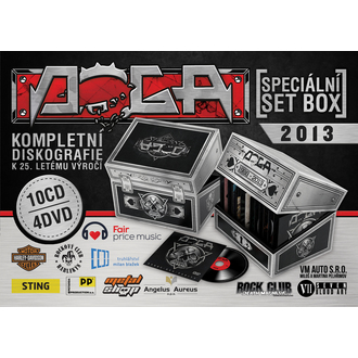 special set box DOGA - 10 CDs + 4DVD