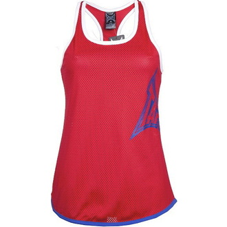 top women TAPOUT - Skinny Racerback - Red