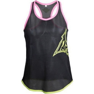 top women TAPOUT - Skinny Racerback - Black
