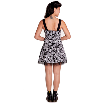 dress women HELL BUNNY - Avalon Mini - Black / white - 4306