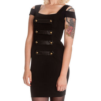 dress women HELL BUNNY - Obsidian - 4281