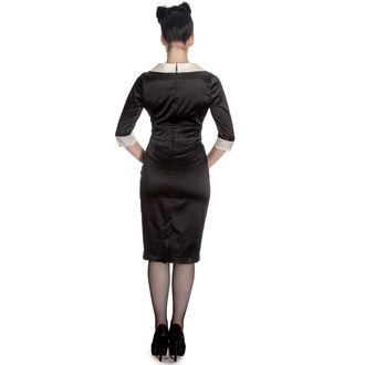 dress women HELL BUNNY - Moneypenny - Black / Ivory - 4296