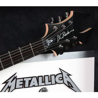 signed guitar METALLICA