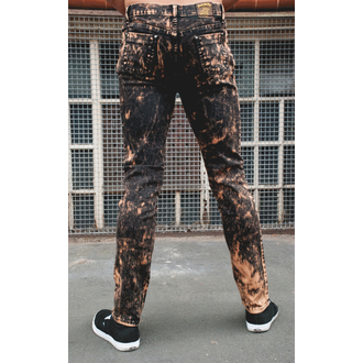 pants men 3RDAND56th - Acid Wash Skinny