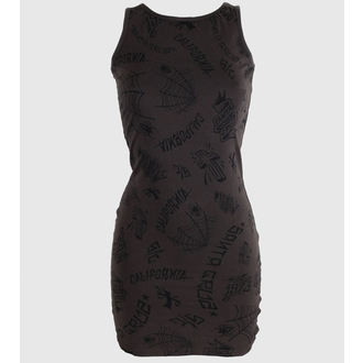 dress women SANTA CRUZ - Tattoo - Vintage Black - GTD
