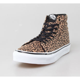 high sneakers women's - U Sk8-Hi Slim -LEOPARD- - VANS