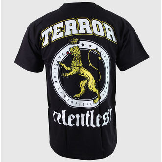 t-shirt men Terror - Relentless - Black - BUCKANEER - 1670