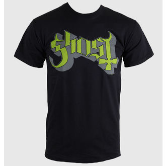 t-shirt metal men's Ghost - Keyline Logo - ROCK OFF, ROCK OFF, Ghost