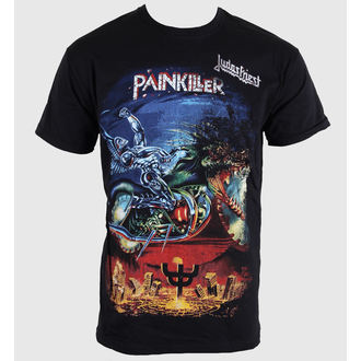 t-shirt metal men's Judas Priest - Painkiller - ROCK OFF - JPTEE06MB