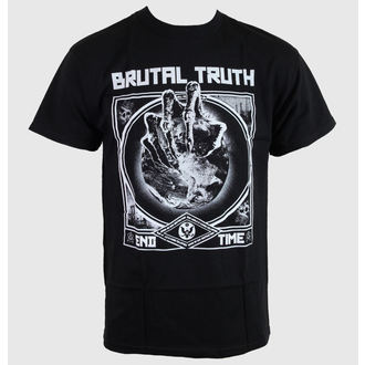 t-shirt metal men's Brutal Truth - End Time - RELAPSE - TS4225