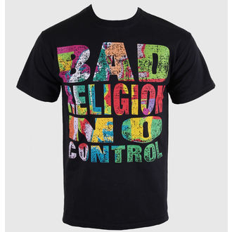 t-shirt metal men's Bad Religion - No Control - KINGS ROAD - 00206