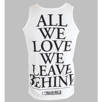 top men Converge - All We Love - White - KINGS ROAD