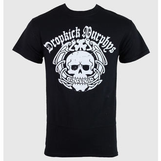 t-shirt men Dropkick Murphys - Boston Skull - Black - KINGS ROAD - 50450