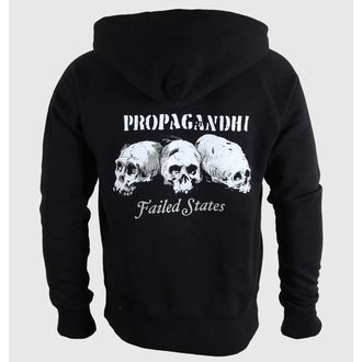 hoodie men Propagandhi - Failed States Crest - Black - KINGS ROAD