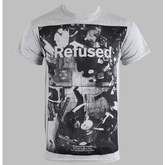 t-shirt metal men's Refused - Live Photo - KINGS ROAD - 01634