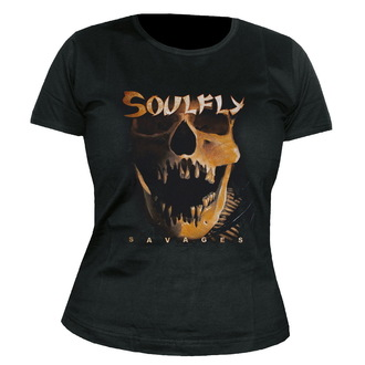 t-shirt metal women's Soulfly - Savages - NUCLEAR BLAST - 22265