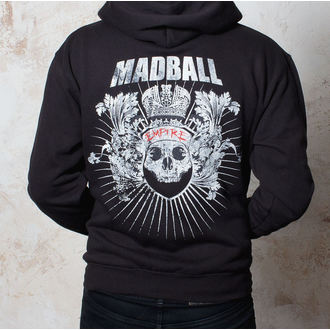 hoodie men Madball - Empire - Black - BUCKANEER - 1492