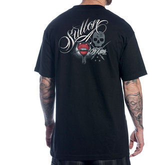 t-shirt men SULLEN - Kiss - Blk