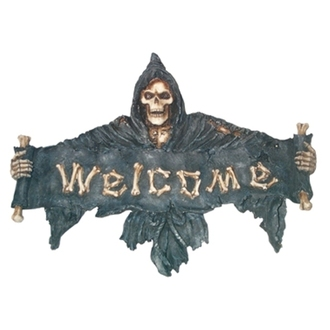 decoration Poly Black Ghost - 761-079