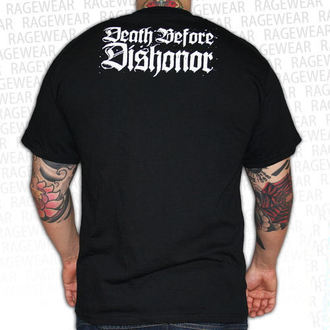 t-shirt metal men's unisex Death Before Dishonor - Black Bats - RAGEWEAR