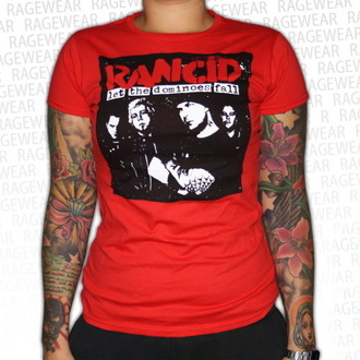 t-shirt metal women's Rancid - Dominoes - RAGEWEAR - 164GSR13