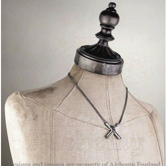 necklace Crucifacation - ALCHEMY GOTHIC - P682