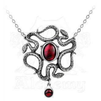 necklace Serpents Eye - ALCHEMY GOTHIC - P688
