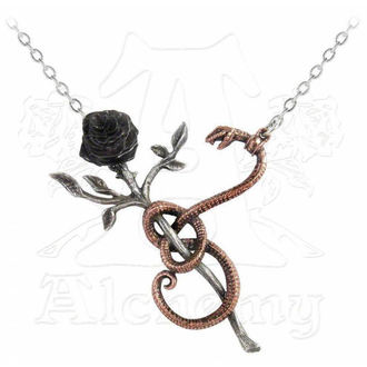 necklace A Rose For Eve - ALCHEMY GOTHIC - P689