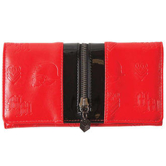 wallet METAL MULISHA - THE LOTTERY - RED