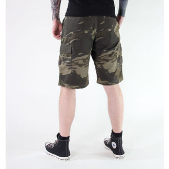 shorts men METAL MULISHA - CAVALRY - CAMO