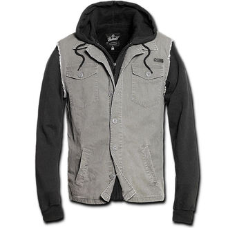 jacket men spring/autumn BRANDIT - Rock Point - Black/Grey - 3136/78