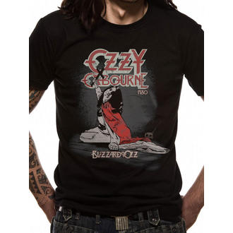 t-shirt metal men's unisex Ozzy Osbourne - Blizzard Of Ozz - LIVE NATION - RTOZO7100
