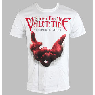 t-shirt metal men's Bullet For my Valentine - Temper Temper Blood Hands - BRAVADO EU - BFMVTS07MW