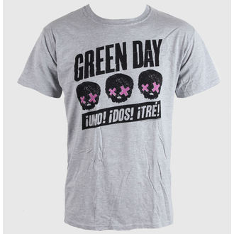 t-shirt metal men's Green Day - Heads Better Than - BRAVADO EU - GDTS03MG