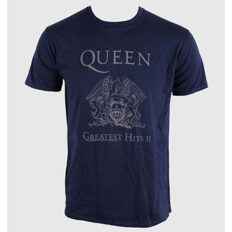 t-shirt metal men's unisex Queen - Greatest Hits II - BRAVADO EU, BRAVADO EU, Queen