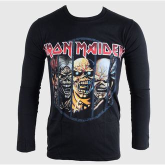 t-shirt metal men's children's Iron Maiden - Eddie Evolution - BRAVADO EU - IMLST01MB