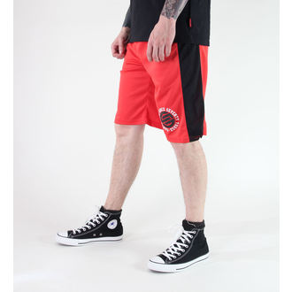 shorts men SANTA CRUZ - CIRCULATE BASKETBALL - TOMATO
