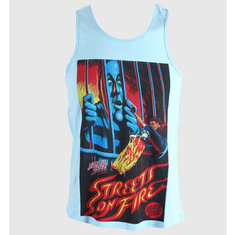 top men SANTA CRUZ - STREETS ON FIRE SKY - VEST
