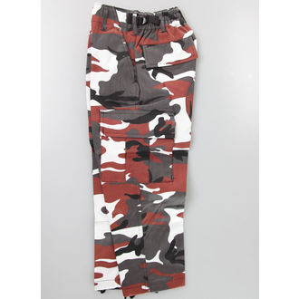 pants children's MIL-TEC - US Hose - Red Camo