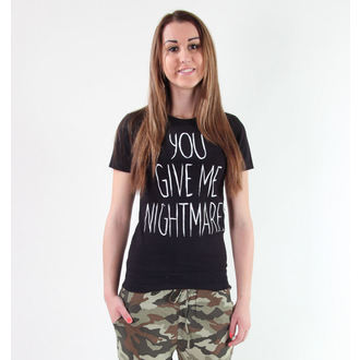 t-shirt hardcore women's children's - Your Give Me Nightmares - Akumu Ink - 6TW03