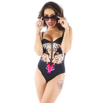 swimsuits women IRON FIST - Here Kitty - Black - IFLBKS12493S14