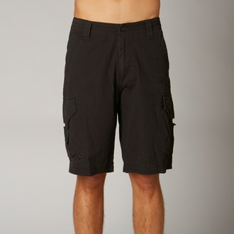 shorts men FOX - Slambozo Cargo - BLACK