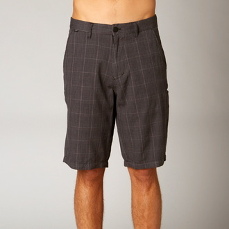 shorts men FOX - Essex Tailor - BLACK