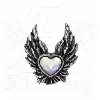 hairclip Heart of an Angel - ALCHEMY GOTHIC - HSC2